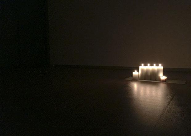 今回はキャンドルの灯りのもと参加者の皆様と時間を過ごさせていただきました。