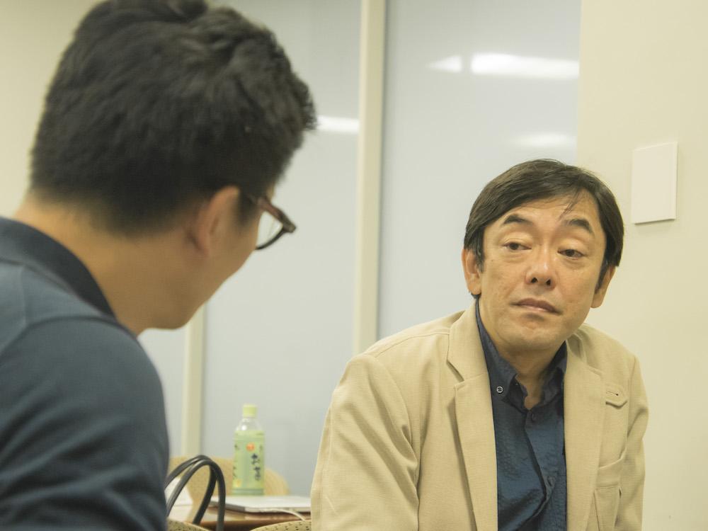 星野さんとインタビューアー